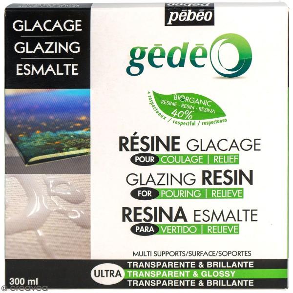 Kit résine glaçage Bio - 300 ml - Photo n°1