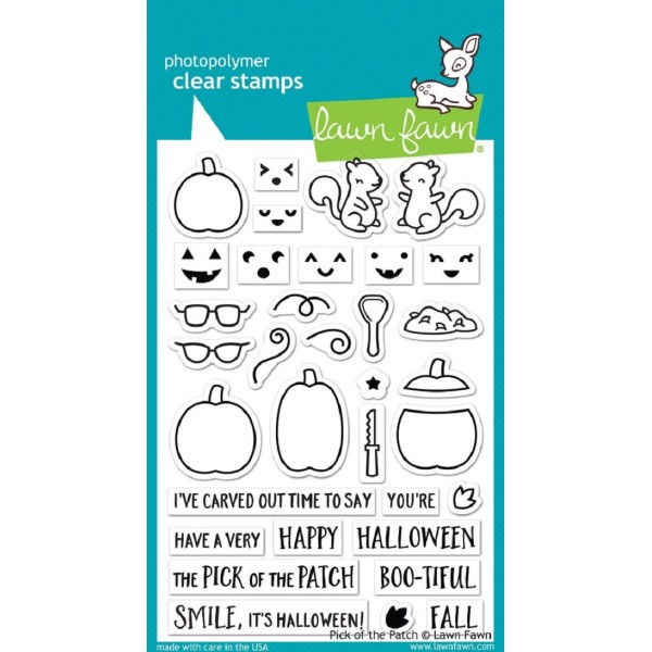Tampon Lawn Fawn - Pick of the patch - 34 pcs - Photo n°1