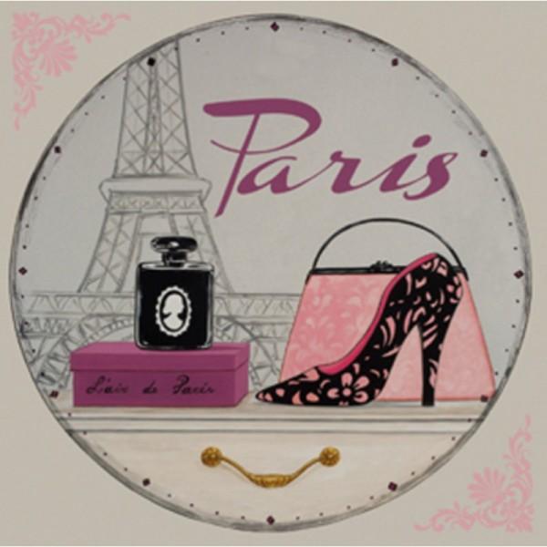 Image 3D - NCN 4961 - 30x30 - Parfum de Paris - Photo n°1