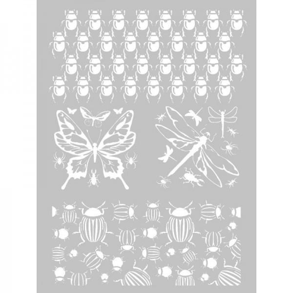 1 Pochoir Insecte pour Pate Fimo, Pate Polymere, Cernit, Sculpey ref 265316 DTM - Photo n°1