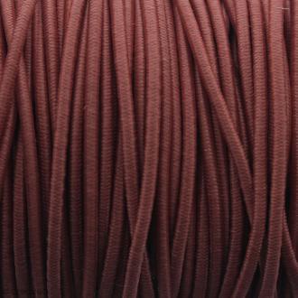 Fil élastique gainé - Rouge - 2 mm - 50m