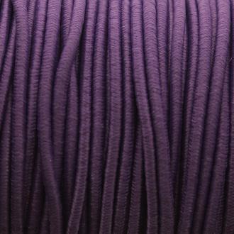Fil élastique gainé - Violet - 2 mm - 50 m
