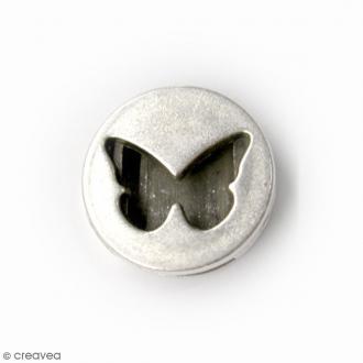 Perle coulissante Papillon pour ruban - 18 mm
