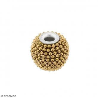 Perle indonésienne ronde - Doré - 15 mm