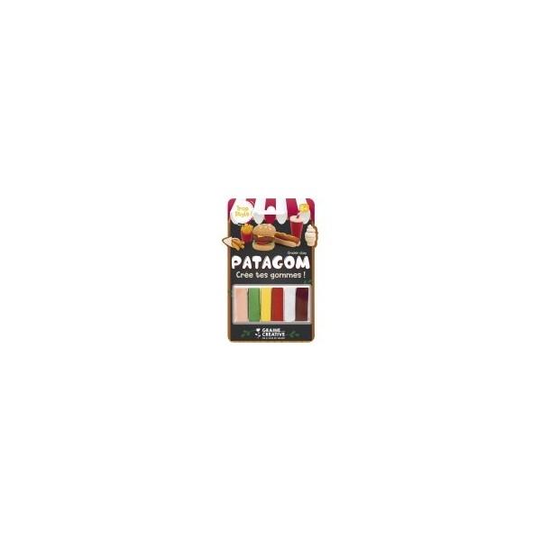 6 pains Crée tes gommes Patagom Junk Food Eraser Clay DTM Graine Créative 262413 - Photo n°1