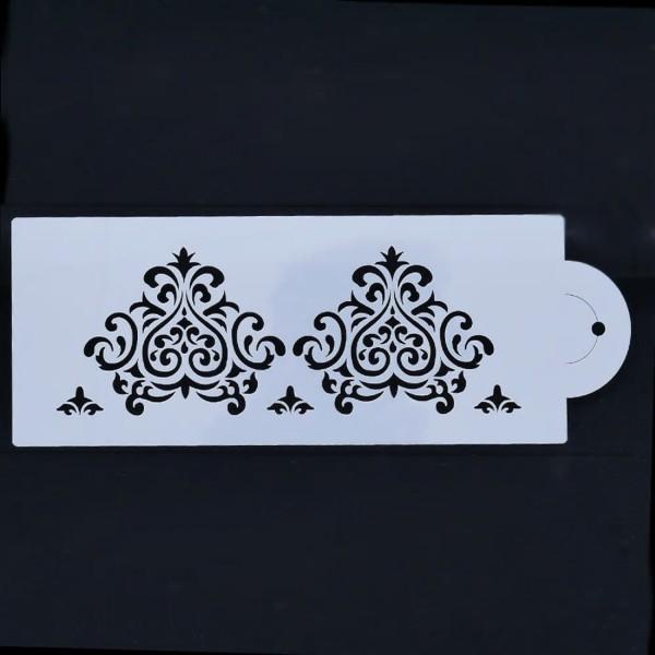POCHOIR PLASTIQUE 24*10cm : motif antique (14) - Photo n°1