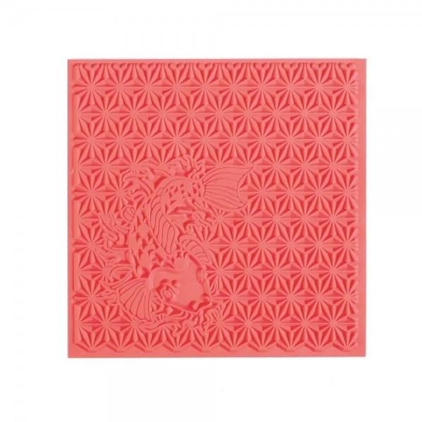 Tapis de Texture Japonisant 9cm pour Pate Fimo, Sculpey Cernit Graine Créative 265404 - Photo n°1