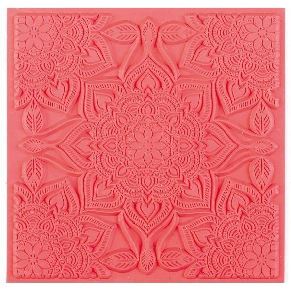 Tapis de Texture Boho Chic 9cm pour Pate Fimo, Sculpey Cernit Graine Créative 265405 - Photo n°1