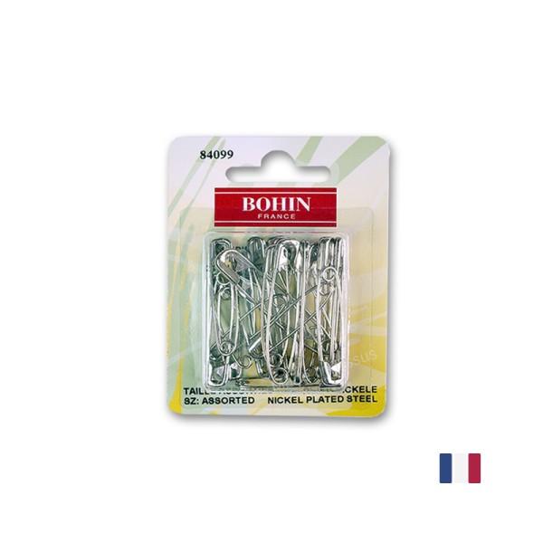 Epingles de sureté Assorties Bohin x 24 - Photo n°1
