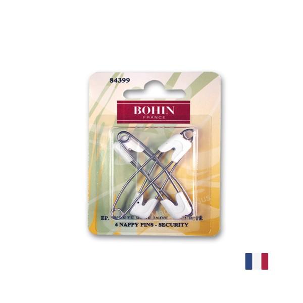 Epingles de sureté pour bébé Bohin x4 - Photo n°1