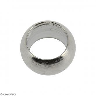 Perles à écraser 4 mm - Gris argenté vieilli - 500 pcs