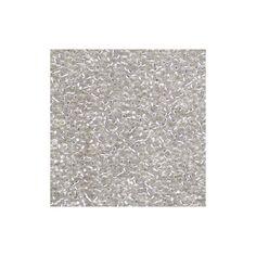 LOT de 30g PERLES rocaille VERRE BLANC OPAQUE 2mm 12//0 création bijoux
