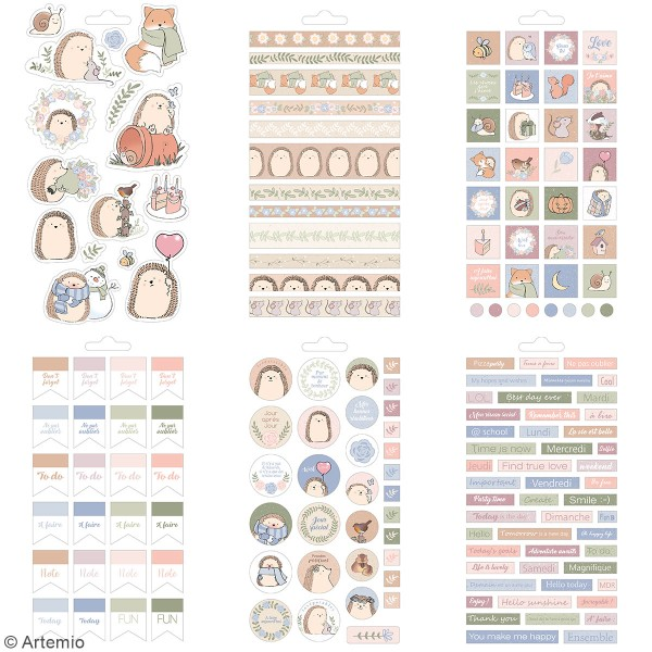 Carnet de stickers Amstramgram - Planner - 30 pages - Photo n°2