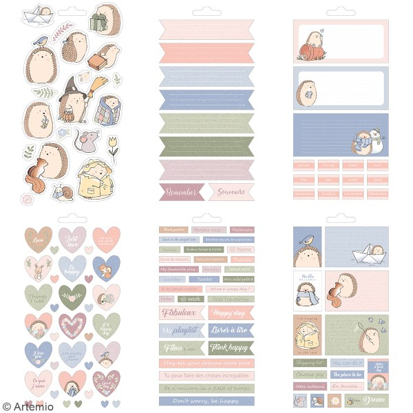 Carnet de stickers Amstramgram - Planner - 30 pages - Photo n°3