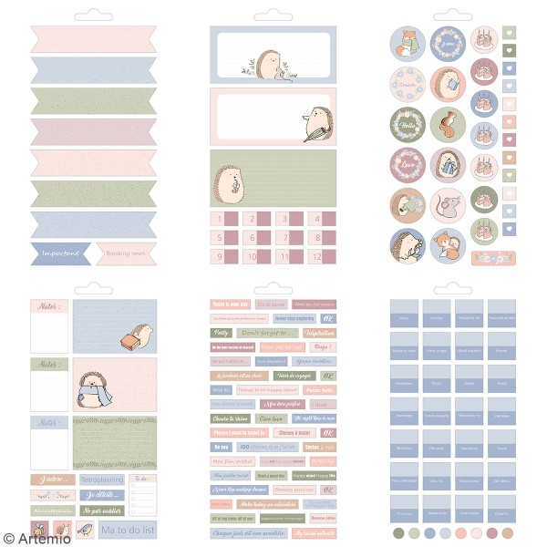 Carnet de stickers Amstramgram - Planner - 30 pages - Photo n°4