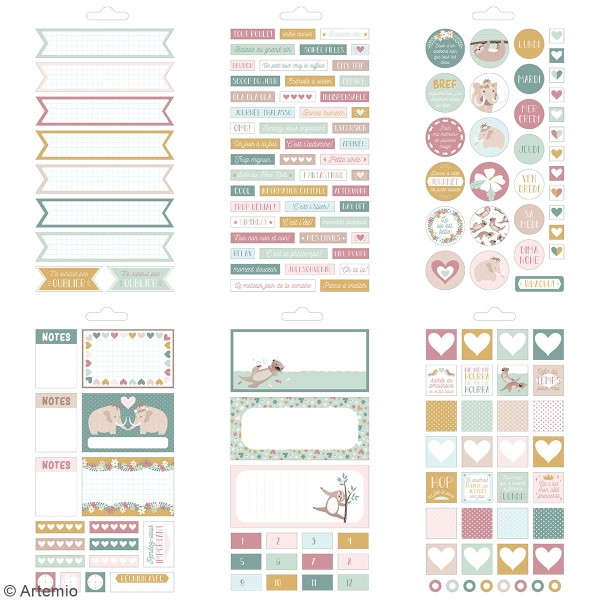 Carnet de stickers No stress - Planner - 30 pages - Photo n°4