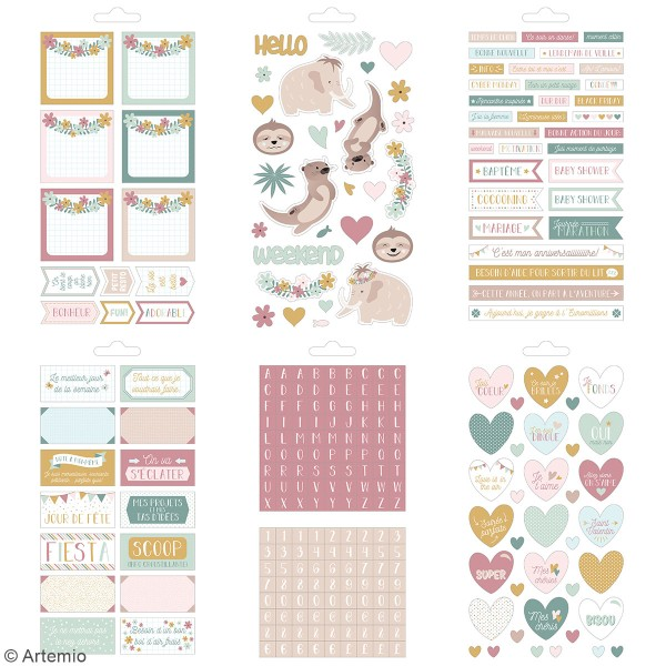 Carnet de stickers No stress - Planner - 30 pages - Photo n°5