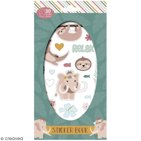 Carnet de stickers No stress - Planner - 30 pages - Photo n°1