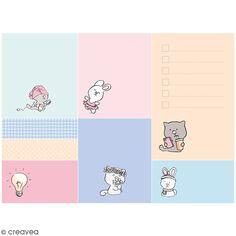Set de Mémos adhésifs - So cute - 8 blocs