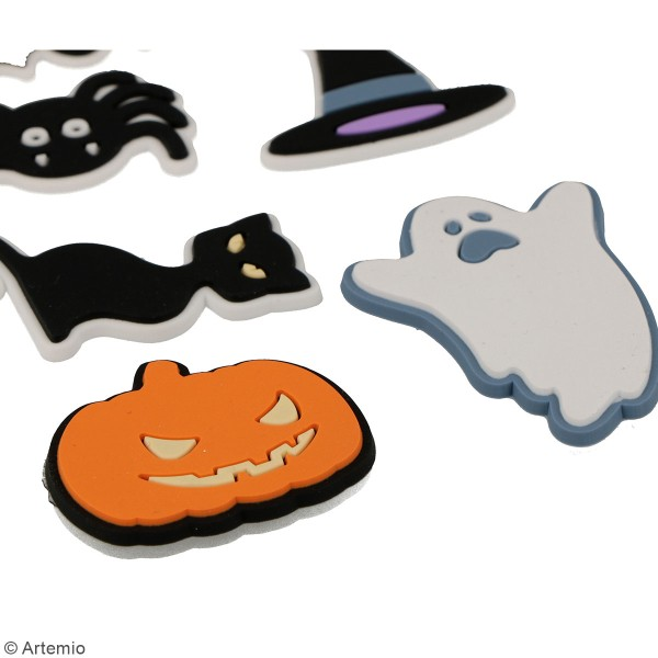Stickers 3D en caoutchouc Artemio - Halloween - 6 pcs - Photo n°2