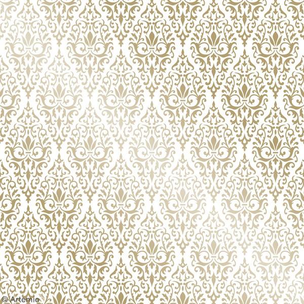 Papier Scrapbooking Artemio - Barok - 30,5 x 30,5 cm - 30 pcs - Photo n°2