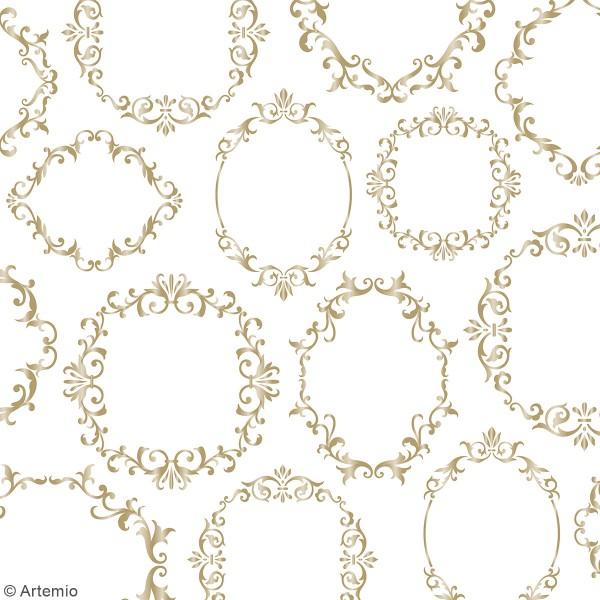 Papier Scrapbooking Artemio - Barok - 30,5 x 30,5 cm - 30 pcs - Photo n°5