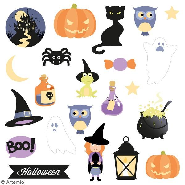 Die cut Artemio - Halloween - 42 pcs - Photo n°2