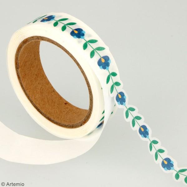 Masking tape découpé Artemio - Folk - 13/23 mm x 5 m - 2 pcs - Photo n°4