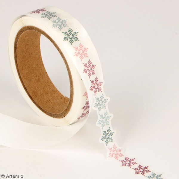 Masking tape découpé Artemio - Isatis - 13/23 mm x 5 m - 2 pcs - Photo n°3