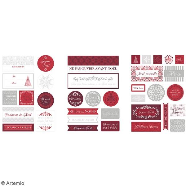 Stickers papier - Etiquettes Barok - 72 pcs - Photo n°2