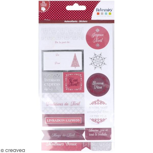 Stickers papier - Etiquettes Barok - 72 pcs - Photo n°1