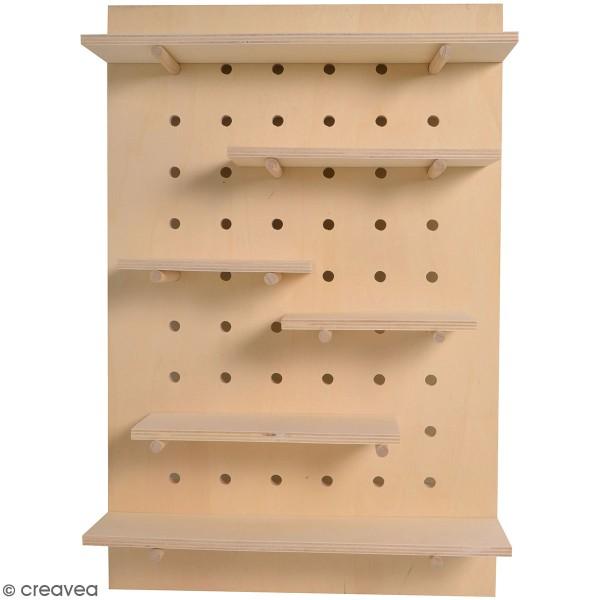 Étagères en bois modulaires - 40 x 60 cm - 19 pcs - Photo n°1