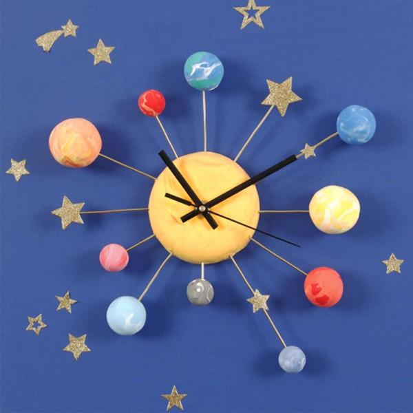 Mécanisme horloge pour épaisseur max. 6 mm - Aiguilles incluses - Photo n°4