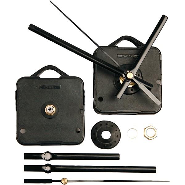 Mécanisme horloge pour épaisseur max. 6 mm - Aiguilles incluses - Photo n°1