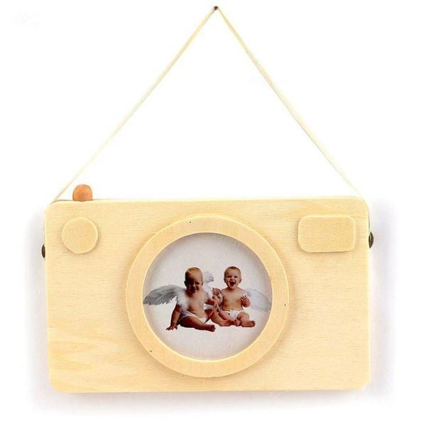 Cadre photo en bois - Appareil photo Polaroïd 20 x 12 cm - Photo n°2