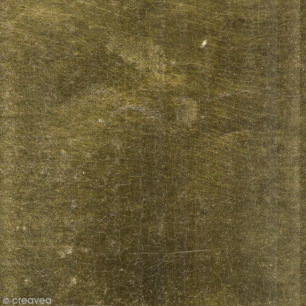 Papier scrapbooking recyclé - L'Or de Bombay - Vert & Or - 6 feuilles 27,8 x 21,6 cm - Photo n°4