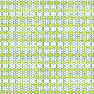 Serviette en papier - Fleurs - Vert - 20 pcs