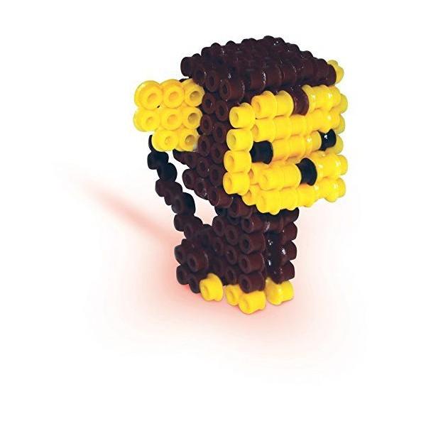 SES Creative - 06126 - Perles à repasser - Animaux en 3D - Photo n°1