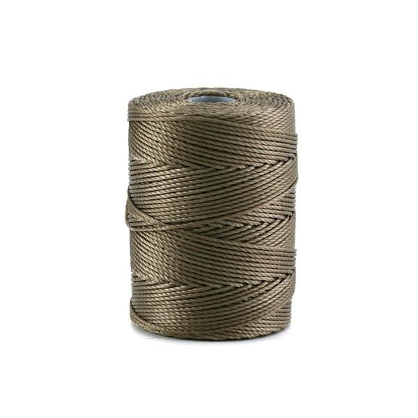Bobine de micro-corde C-lon 0,45 mm marron antique - Photo n°1