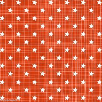 Serviette en papier - Petites étoiles - Rouge et blanc - 20 pcs