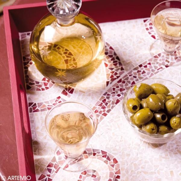 Mosaïque résine Paillettes -Artemio - Couleurs assorties - 150 gr - Photo n°2