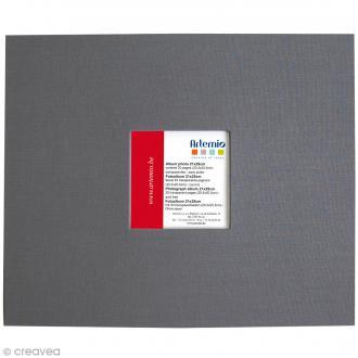 Album pour scrapbooking - Gris anthracite - 21 x 25 cm