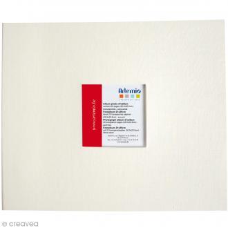 Album pour scrapbooking - Beige écru - 21 x 25 cm
