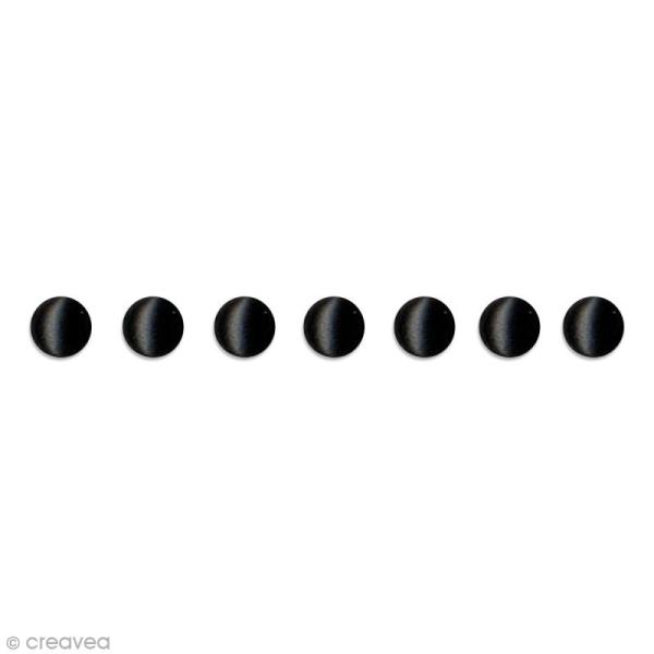 Attaches parisiennes Artemio - Noir - Rond - 5 mm - 100 brads - Photo n°1