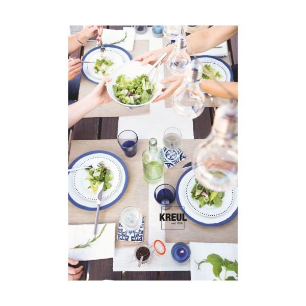 Le verre Et la Porcelaine KREUL Peinture Classique Gris 20ml, Bricolage, Peinture, Peinture d'Artisa - Photo n°3