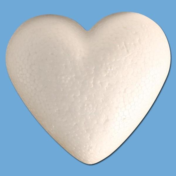 Coeur en polystyrène 9 cm - Photo n°1
