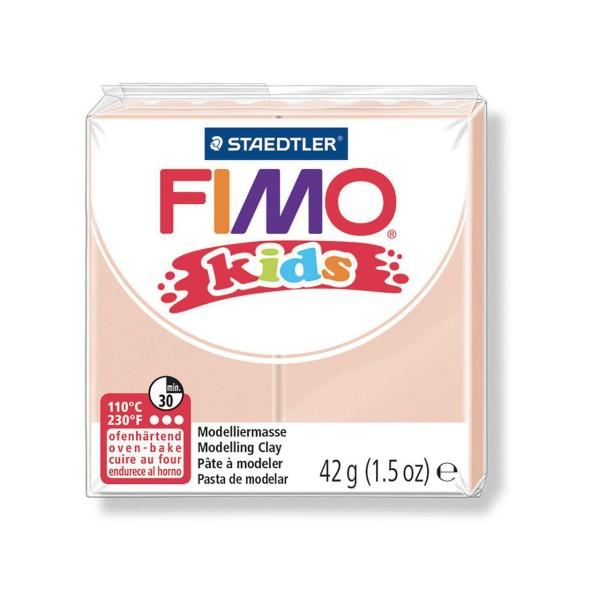 FIMO Kids 42g - Bébé en pâte à modeler de couleur Beige, des Fournitures d'Artisanat, Argile Polymèr - Photo n°1