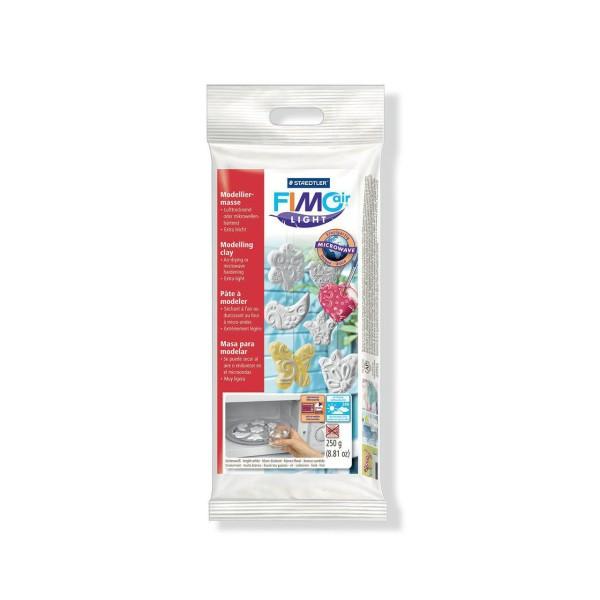 FIMO Air Light 250g de Blanc, des Fournitures d'Artisanat, Argile Polymère, Argile à Modeler, Argile - Photo n°1