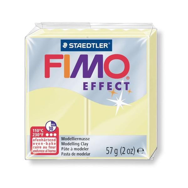 FIMO Effet Pastel Vanille 57 octies, Argile de Polymère, un Four d'Argile, modelage en Argile, l'Arg - Photo n°1