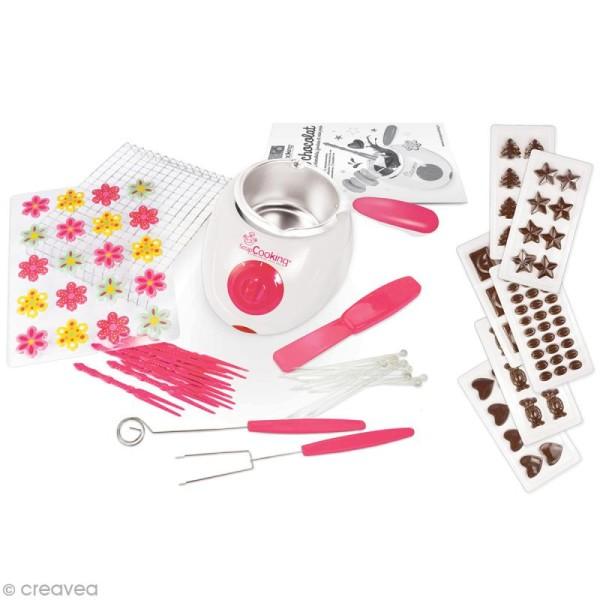 Fondue à chocolat ScrapCooking - Fourni avec accessoires - Photo n°2